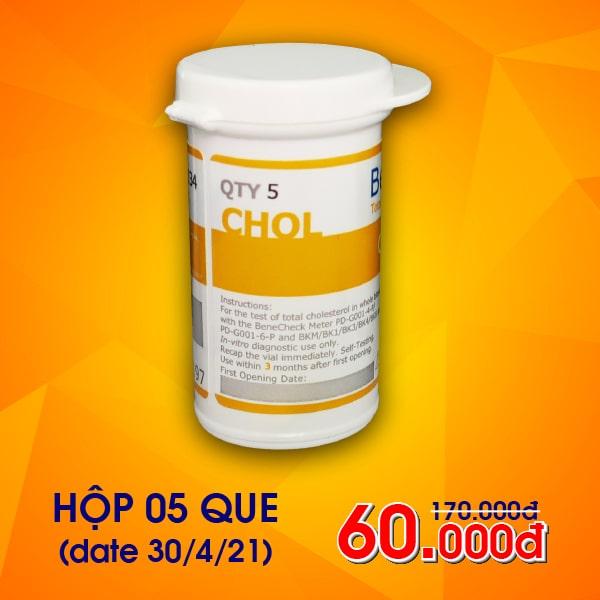 Sale 65% que Cholesterol máy Benecheck (5 que)