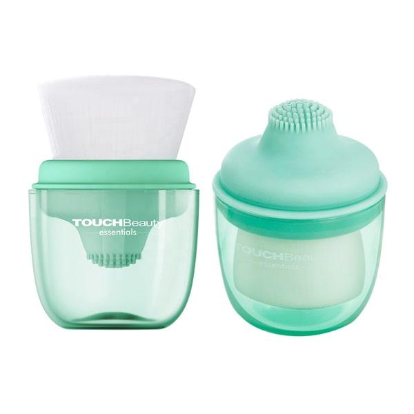 Bàn chải rửa mặt và massage silicone TB1762