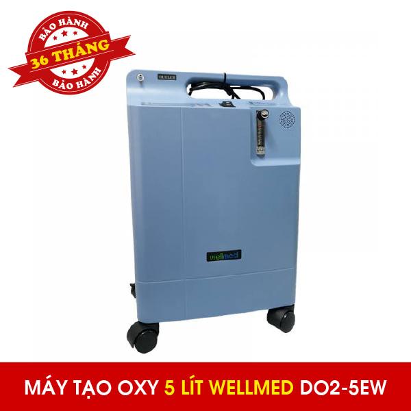 Máy tạo oxy 5 lít Wellmed DO2-5EW - Có xông mũi họng