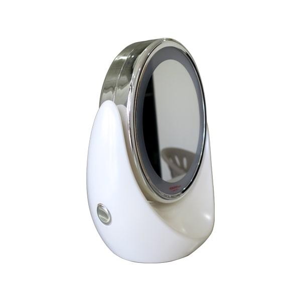 Gương trang điểm 2 mặt có khả năng Zoom (1X/5X) TouchBeauty TB0678
