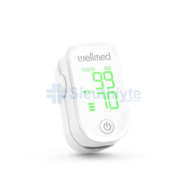 Máy đo nồng độ oxy trong máu SPO2 Wellmed FS10F Green Display
