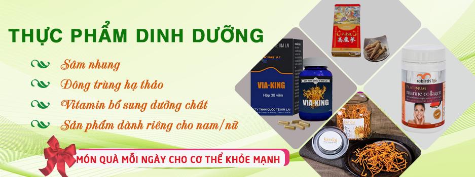 Vitamin bổ sung dưỡng chất - DM
