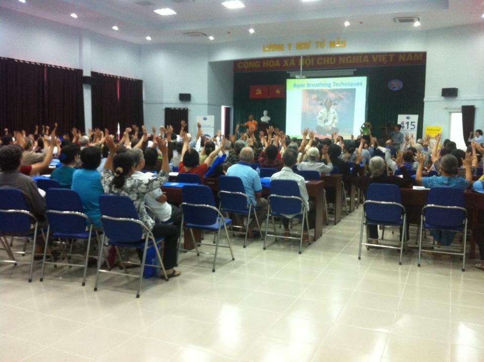 Chương trình đo đường huyết và huyết áp miễn phí cho 500 hội viên CLB ĐTĐ bệnh viện Gò Vấp