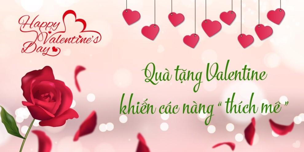 Quà tặng Valentine khiến các nàng thích mê