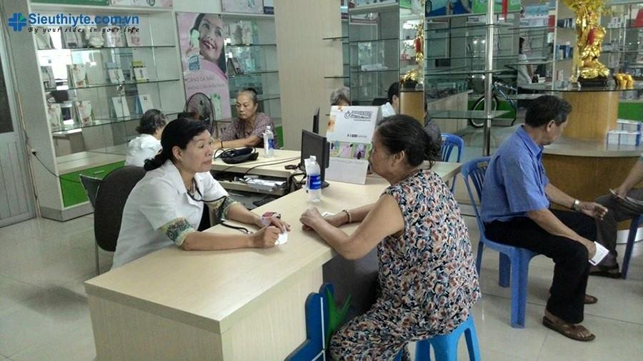 Chương trình đo đường huyết và huyết áp miễn phí